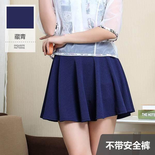(Pre Order ETA 14/2) JYS Fashion: Korean Style Mini Skirt Collection 105 3062- Free Size-Navy Blue