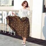 (Pre Order ETA 14/2) JYS Fashion: Korean Style Skirt Collection 80  2918-Brown Floral