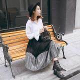 (Pre Order ETA 14/2) JYS Fashion: Korean Style Skirt Collection 80  9440-Black and Grey