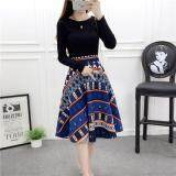JYS Fashion: Korean Style Skirt Collection 80  9634-Culture Printed Pattern
