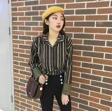 (Pre Order ETA 14/2) JYS Fashion: Korean Style Top / Blouse Collection 85  1809-Green Stripe