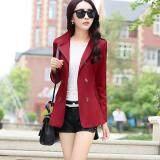(Pre Order ETA 14/2) JYS Fashion: Korean Style Windbreaker Collection 88  1361-Wine Red
