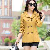 (Pre Order ETA 14/2) JYS Fashion: Korean Style Windbreaker Collection 88  1361-Yellow