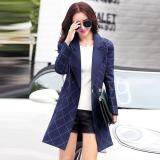 (Pre Order ETA 14/2) JYS Fashion: Korean Style Windbreaker Collection 88  2576-Navy Blue