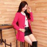 (Pre Order ETA 14/2) JYS Fashion: Korean Style Windbreaker Collection 88  9676-Rose Red