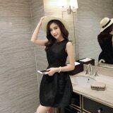 JYS Fashion: Midi Dress Collection 2  YS37348- Black