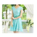 JYS Fashion: Midi Dress Collection 2  ZM108- Sky Blue