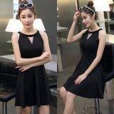 JYS Fashion: Midi Dress Collection 2  YS78964- Black