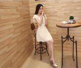 JYS Fashion: Midi Dress Collection 2  DXJ335- Apricot