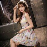 JYS Fashion: Premium Lace Organza Midi Dress Collection 10  290-Blue Pokka Pattern