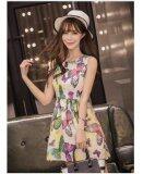 JYS Fashion: Premium Lace Organza Midi Dress Collection 10  299-Colorful Butterfly Pattern