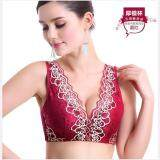 JYS Fashion: Shirt Bra Collection 27 2523-Wine Red