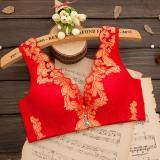 JYS Fashion: Shirt Bra Collection 27 372-Red