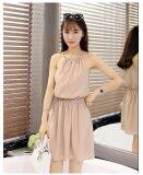 JYS Fashion: Stylish Midi Dress Collection 13  5216- Beige
