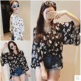 (Pre Order ETA 14/2) JYS Fashion:Korean Style (Chiffon, Lace, Off Shoulder) Top Collection 96  9660-Black