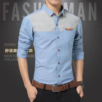 Levis thin shirt male long sleeved shirt
