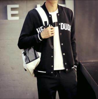 Male all-match thin slim handsome jacket