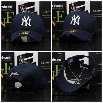 New Fashion NY Logo New York Yankee Snapback 9Fifty Baseball Cap Hip Hop Cap (Dark blue)