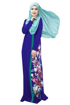 3617b10af7 Harga Murah New Muslimah Jubah Dress Chiffon Long Sleeves Maxi Dress ...