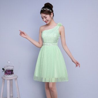 Harga New style bridesmaid dress (Light green) (Light green)