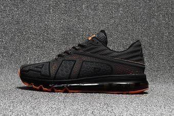 02fd523af75b05 Nike Men s Air Max Flair 2017 Running And Walking Shoes EU40-44(Black Orange