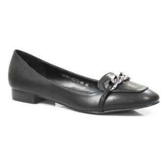 Kelincimadu String Flatshoes Cream Spec dan Daftar Harga Terbaru Source · SEMBONIA Chain Synthetic Ballerina Black