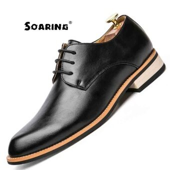 Soaring Round Toe Full Brogues Medallion 100%genuine Calf Leather Men s  Shoe Welted Bespoke Leather 2bc9e0b1c8