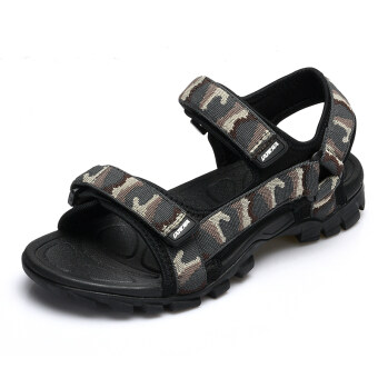 Sports & outdoors male boy's Plus-sized sandals (Camouflage)