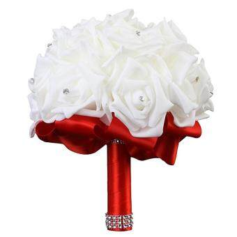 Harga Sunshop Artificial Bouquet of Flowers Wedding Bride HoldingSimulation Flower( Small )
