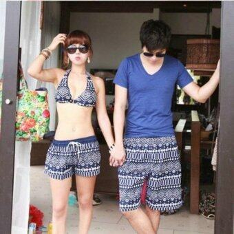 Women Summer beach shorts quick drying couple beach pants classicalshorts swim beach pants holiday swimsuit