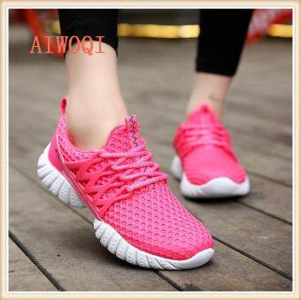 Harga Women Unisex Couple Casual Fashion CasualSneakers BreathableAthletic Sports Running Shoes AIWOQI