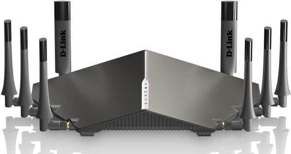 D-Link Wireless AC Tri-Band Gigabit Cloud Router USB 3.0 (5300Mbps) DIR-895L