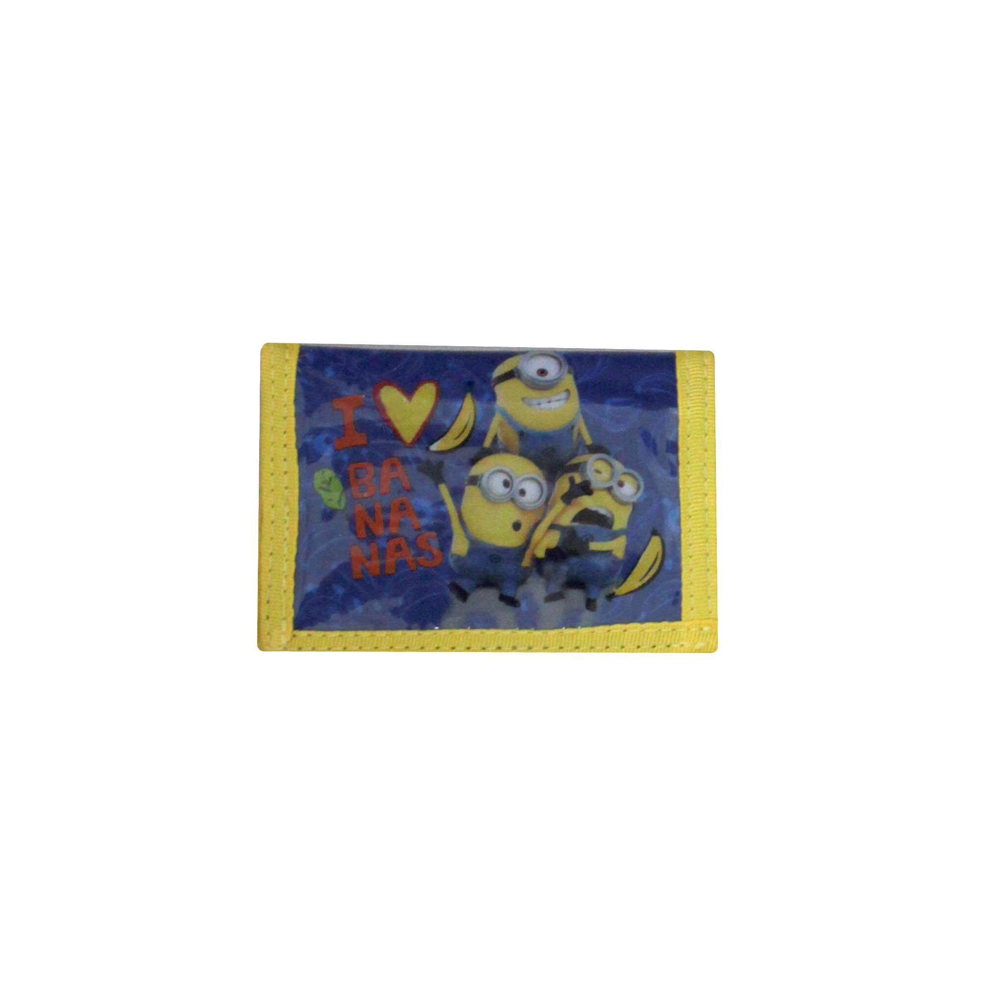 Despicable Me Minions Cartoon Character Children 3 Folded Wallet