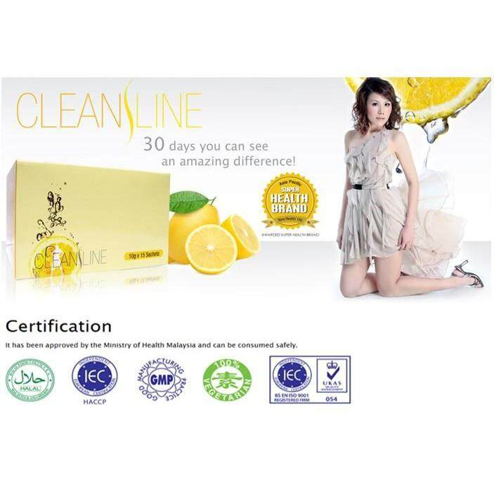 FREE GIFTCLEANSLINE effective slimming 10g x15