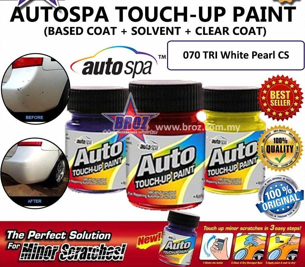 AUTOSPA Touch Up Paint Fortuner 3pcs/Set (Base Coat+Solvent+Clear Coat)