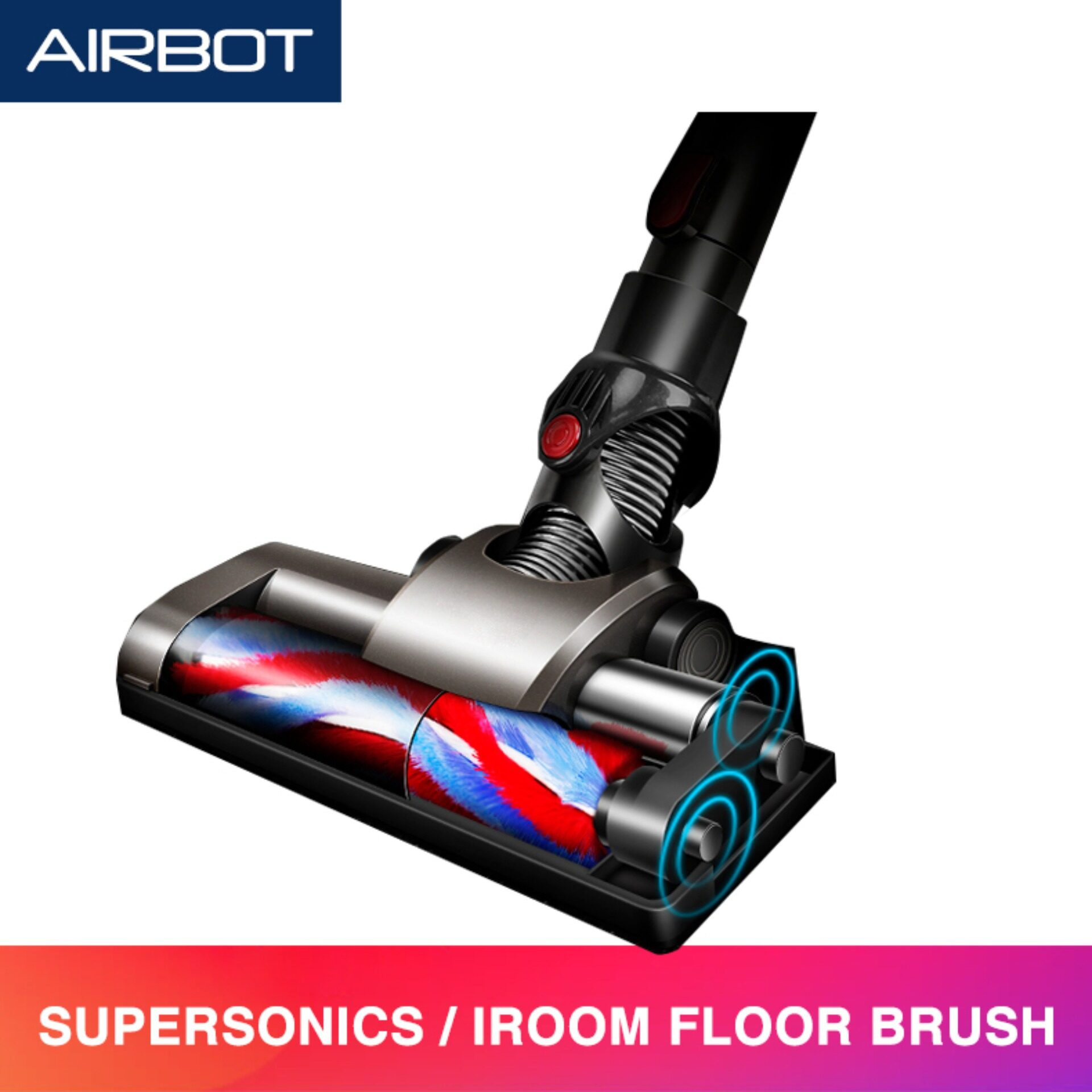 Airbot Cordless Vacuum Cleaner Fluffy Head Tool Floor Brush Set Supersonics iRoom Accessories Spare Part