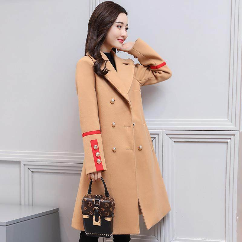 (Pre Order14 Days JYS Fashion Korean Style Women Winter CoatCollection522-8656col522-8656--Khakis -M