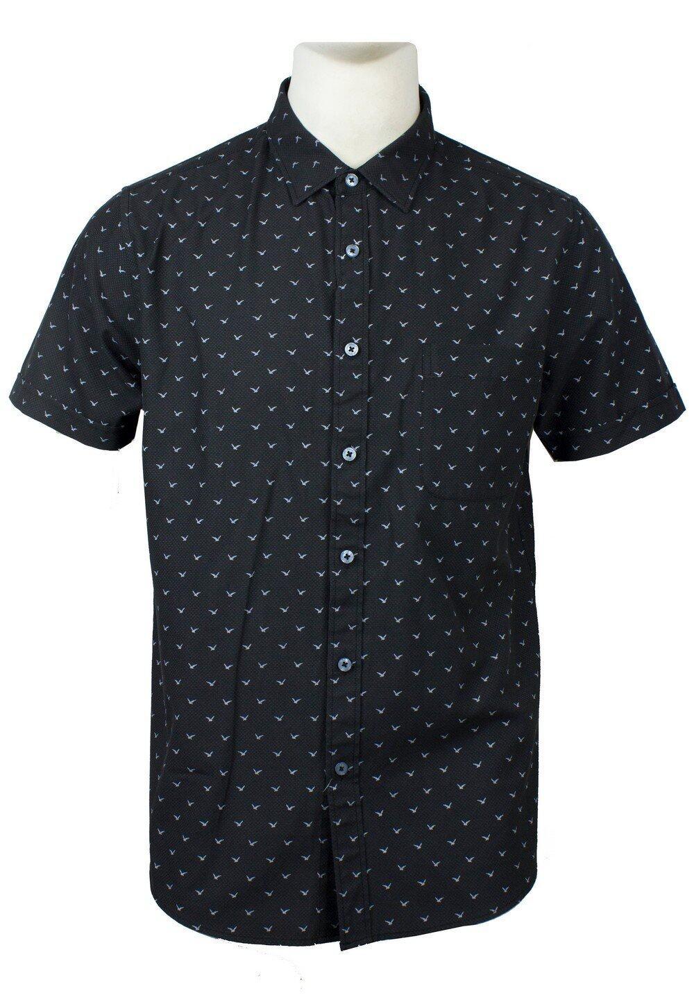 Men's Printed Short Sleeve Shirt 848
