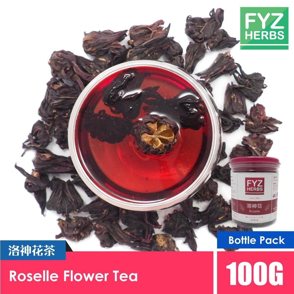 FYZ Herbs Roselle Flower Tea 100g [Bottle Pack] 洛神花茶罐装 100g