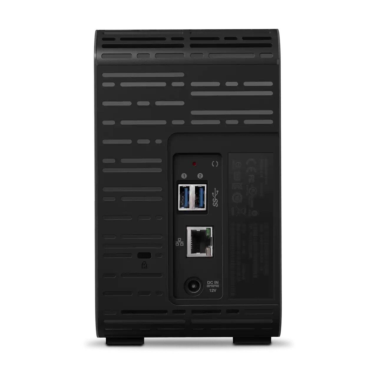 WD My Cloud Expert Series EX2 Ultra Network-attached storage 0TB/ 4TB/ 8TB/ 12TB/ 16TB/ 20TB, NAS, USB 3.0