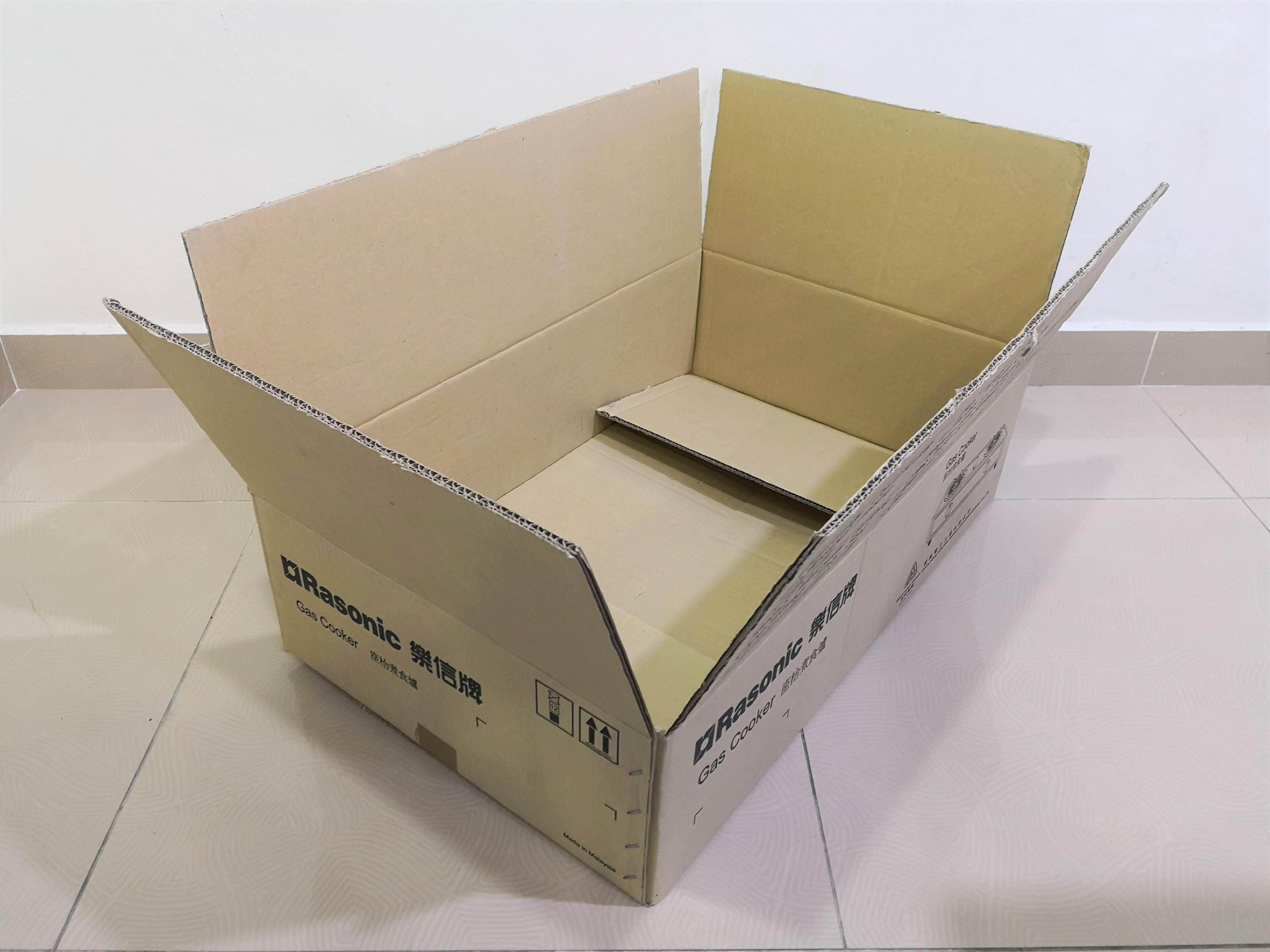 5pcs Printed Carton Boxes (L724 x W453 x H196mm)