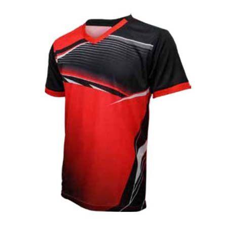 ESPANA Unisex Junior Colour Sublimation Jersey ESP10J (Black/Red)