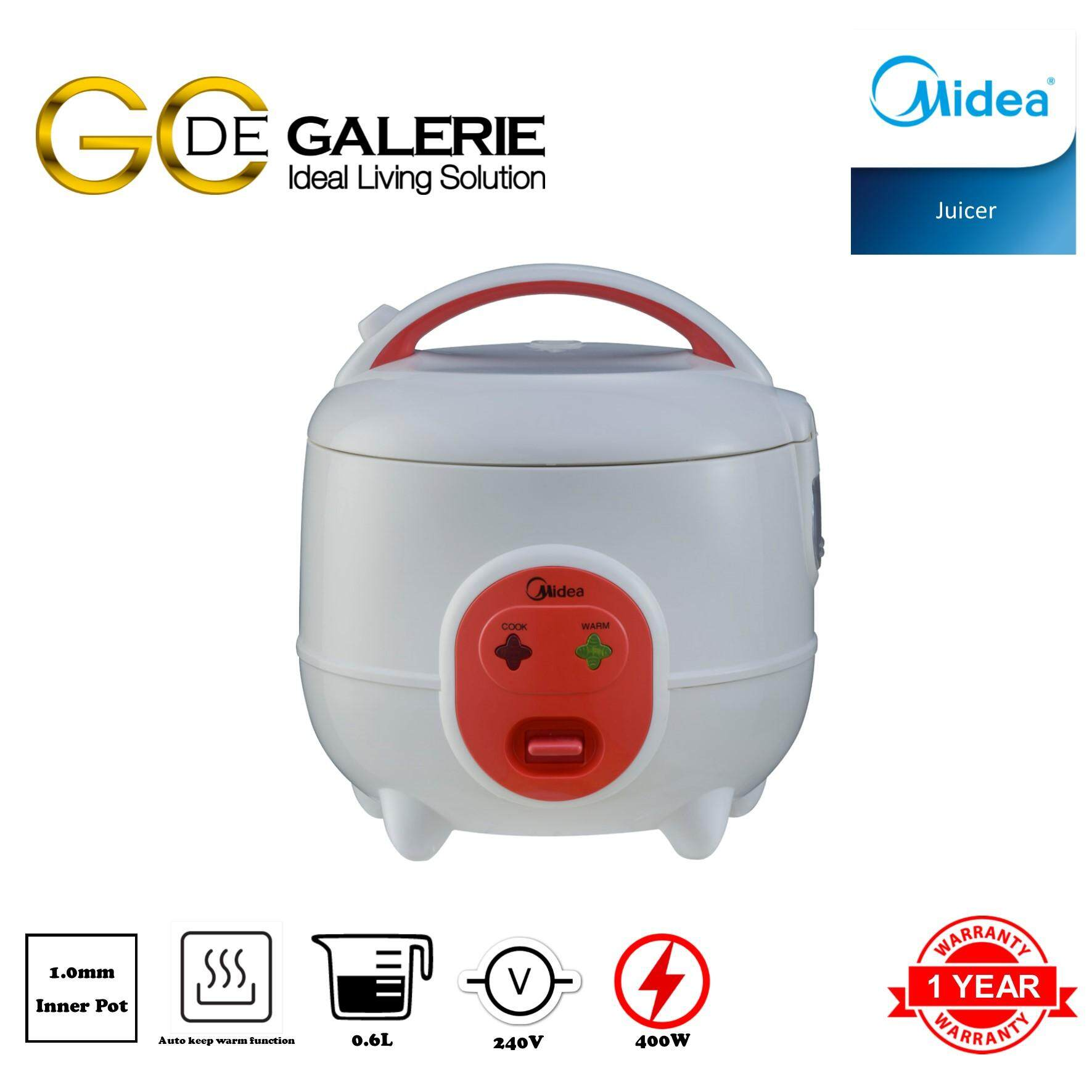 MINI JAR RICE COOKER MIDEA MR-CM06SC 0.6L RED