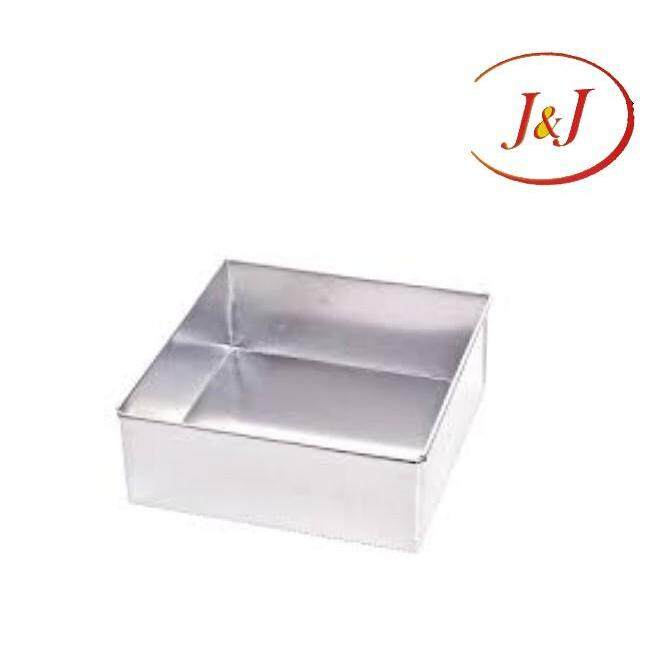 """Stainless Steel Square Cake Tin, 9"""""""