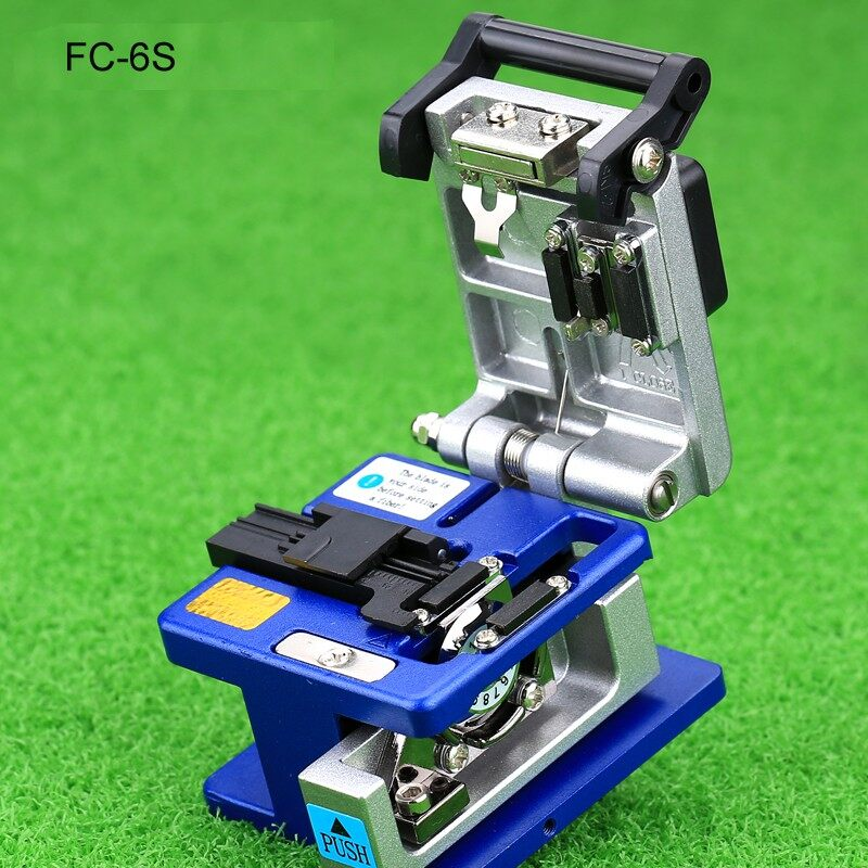 Precision Aluminum Fiber Cleaver Optic Connector FC-6S Optical Fiber Cleaver
