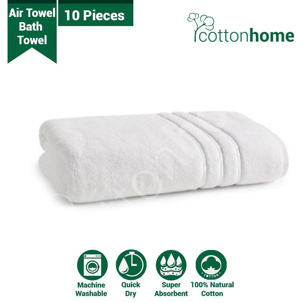 BUNDLE Air Towel 10 pieces Bath Towel Suitable for homestay *PRE-ORDER*