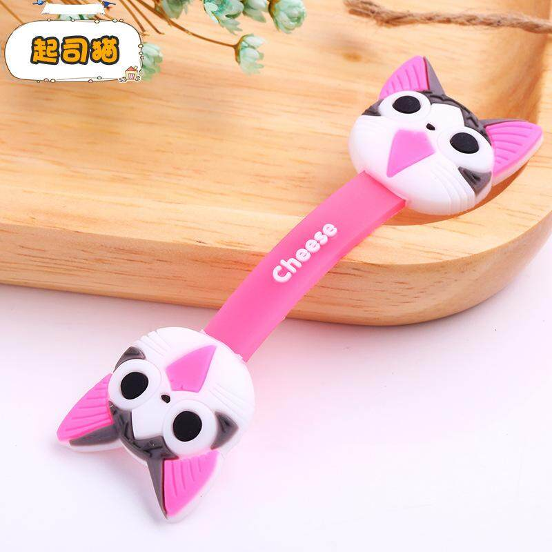 Colourful cute cartoon cable tie for earphone data Line Wrap Winder Fixer Holder Cord Manager Cable Winder