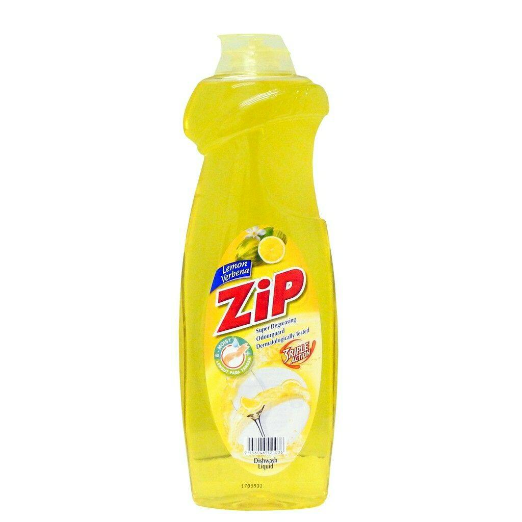 Zip Dishwash Liquid Lemon - 900ml