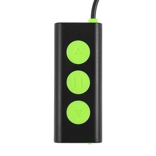 SIGNET BT - BK BLUETOOTH 4.1 BONE CONDUCTION HEADPHONES (GREEN)