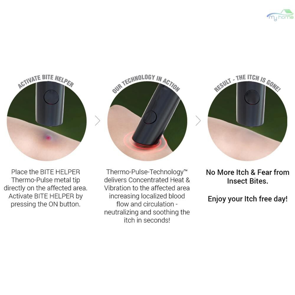 Outdoor & Garden - PORTABLE Bug Bite Itch Helper Small Stings Neutralizer Mosquito Bites Itch Relief Solution for the - #